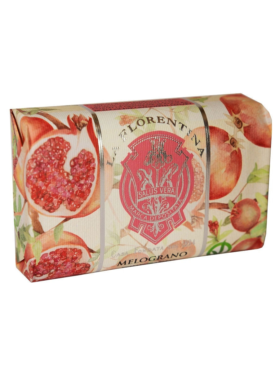 Мыло Bellosguardo: Pomegranate / Гранат, 200 г LA FLORENTINA 10189859 в интернет-магазине Wildberries