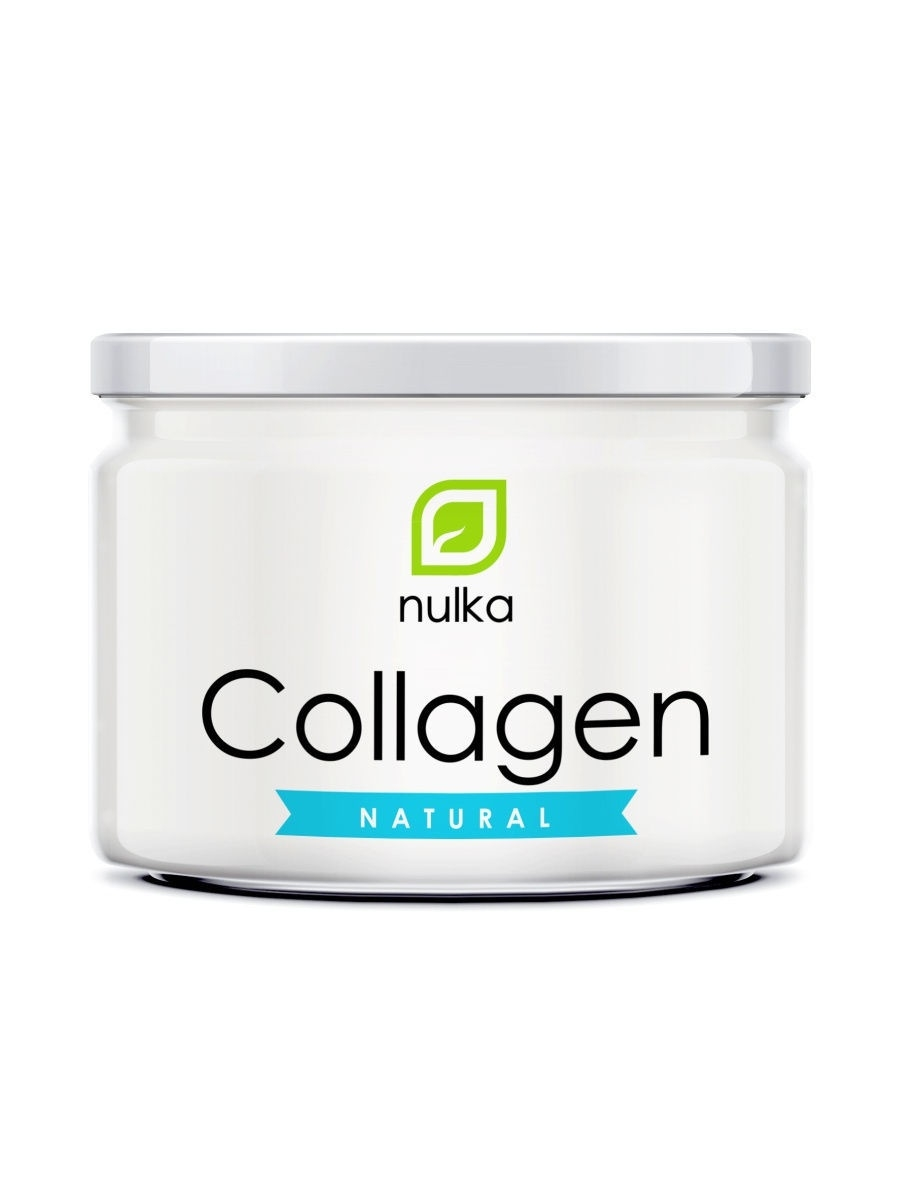 Collagen natural 180 г, NULKA