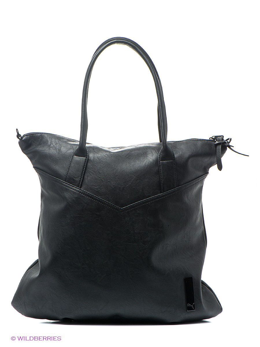 Сумка Allure Shopper PUMA. Цвет черный.