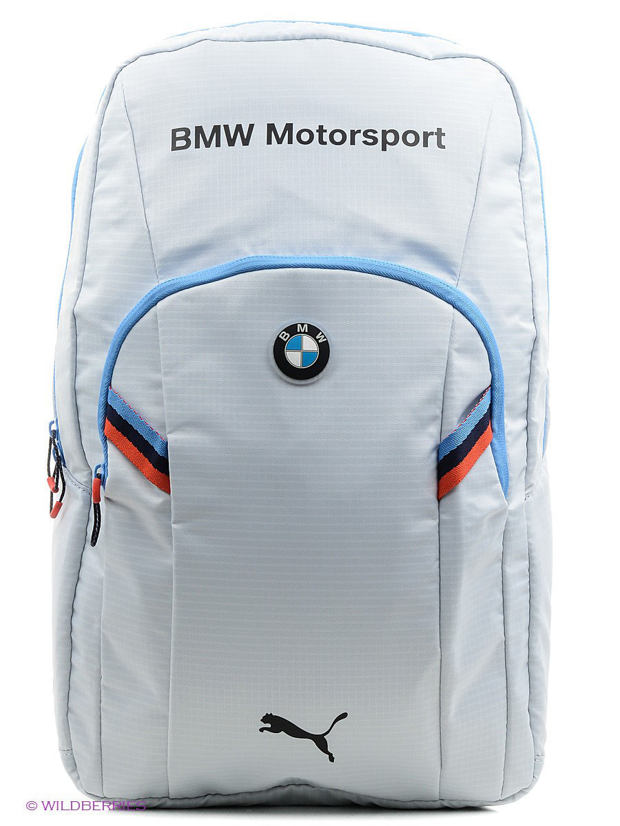 bmw motorsport backpack puma 2197543. Black Bedroom Furniture Sets. Home Design Ideas