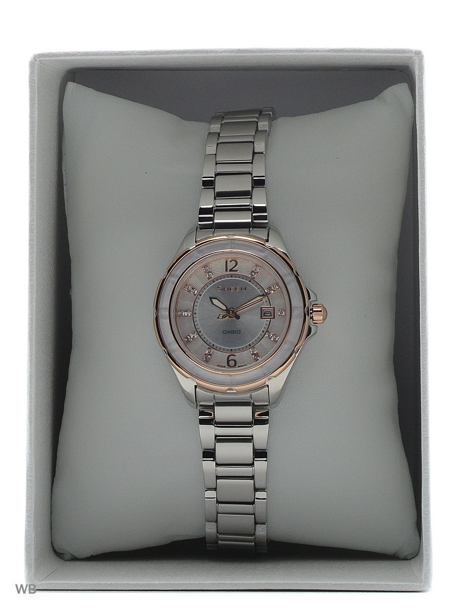 Часы Casio SHE-4045SG-7A Часы Rodania RD-2509941