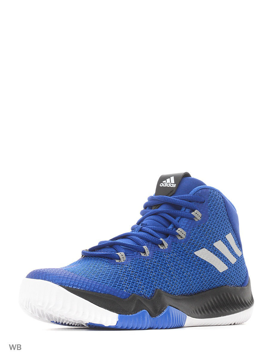 de635817 Кроссовки Crazy Hustle J CROYAL/SILVMT/BLUE Adidas 4134265 в  интернет-магазине Wildberries.kz
