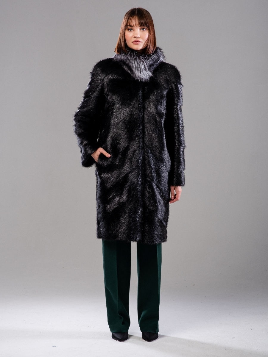 Шуба  BOGACHO FUR 6612827 в интернет-магазине Wildberries.ru