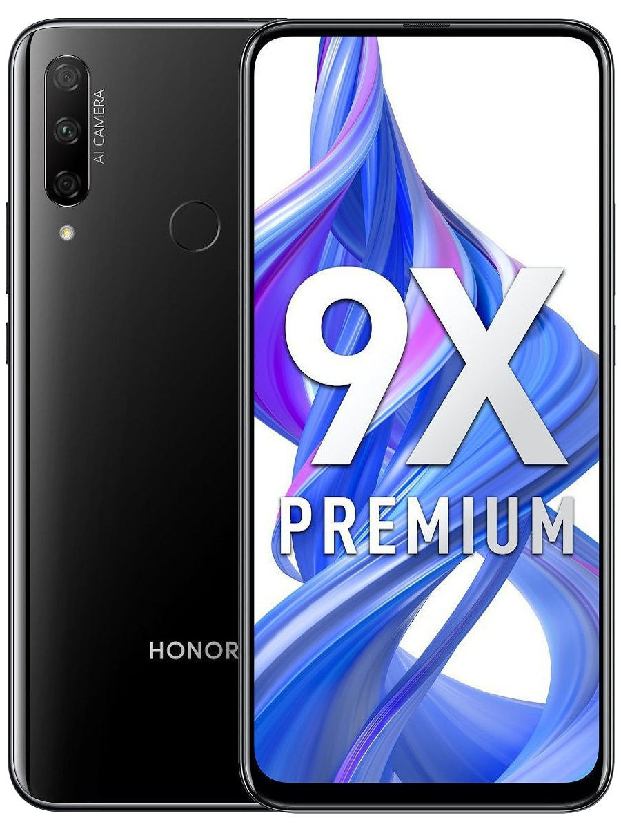 "Смартфон 9X 6/128 GB: 6,59"" 2340x1080/LTPS Kirin 710F 6Gb/128Gb 48Mp+8Mp+2Mp/16Mp 4000 mAh, Honor"