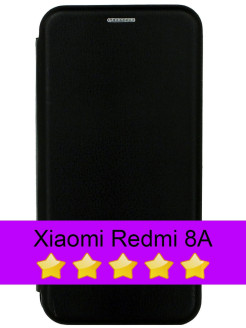 Book Cover for Xiaomi Redmi 8A with Magnet and Card Slot FINITY