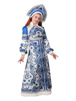 "Carnival costume ""The Snow Maiden Vasilisa"" Батик"
