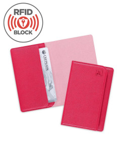 Credit card holder for 3 plastic cards with RFID protection Flexpocket