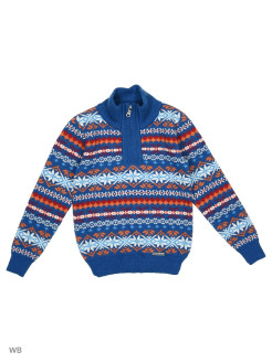 Jumper woolen northern ornament NORVEG