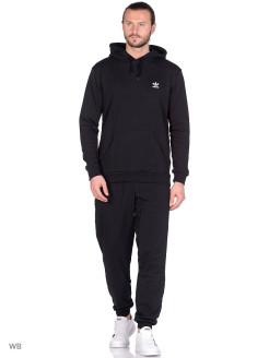Худи ESSENTIAL HOODY     BLACK adidas