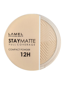 Пудра для лица Stay Matte Compact Powder, 401 porcelain Lamel