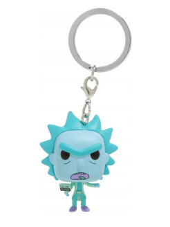 Брелок Funko Pocket POP! Keychain: Rick & Morty: Hologram Rick Clone 44746-PDQ Funko