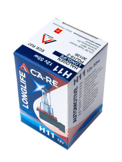 Галогенная лампа H11 CA-RE Halogen Bulb 12V 55W  PGJ19-1  Longlife CA-RE