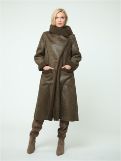 Sheepskin coat KATA BINSKA