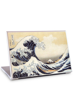"Наклейка для ноутбука 15.4"" The Great Wave-Katsushika Hokusai Gelaskins"