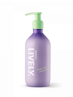 Лосьон для тела  Lively Body Milk Sweet Lavander, 300 мл Aromatica