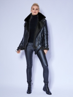 Sheepskin coat Evidress