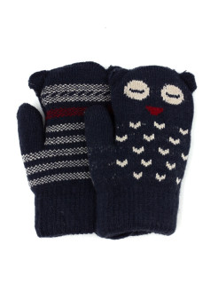 Mittens, without elements, knitted KimLin