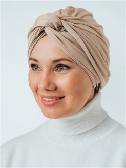 Turbans, viscose Veil