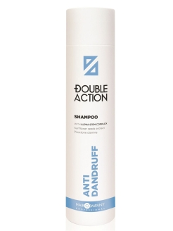 Шампунь DOUBLE ACTION ANTI DANDRUFF против перхоти, 250 мл HAIR COMPANY PROFESSIONAL
