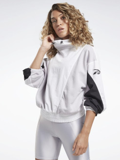 Свитшот SH Woven Cover Up WHITE Reebok