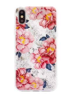 Чехол iphone X/Xs flowers series Habitu