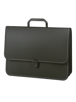 "Plastic briefcase ""Consul"", A4, 2 compartments Brauberg"