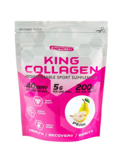 King collagen, 200гр, pear (Груша) King Protein