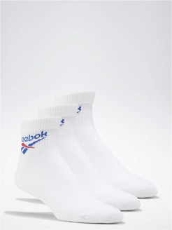 Носки CL FO Ankle Sock 3P WHITE Reebok
