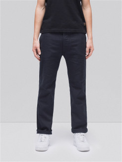 Брюки Loose Alvar Navy Nudie Jeans