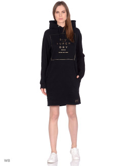 Платье OVERSIZED SCANDI HOODED DRESS Superdry
