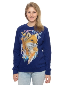 Sweatshirt Fleece Fox Dreamcatcher MF