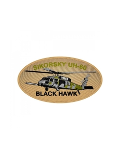 Текстильный патч/Шеврон 0250 Sikorsky UH-60 Black Hawk Округ