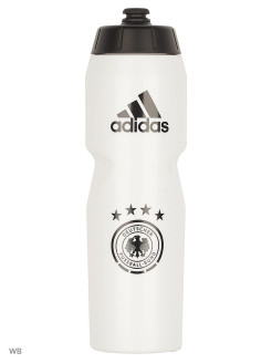 Бутылка DFB BOTTLE          WHITE/BLACK/LGSOGR adidas
