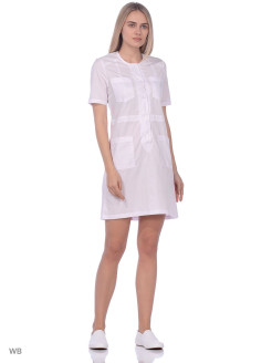 Medical dress, breathable material Lauraworkwear