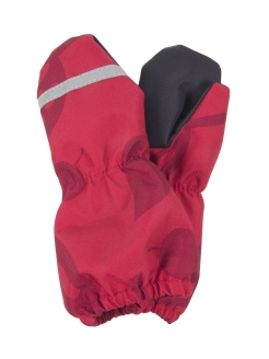 Mittens, reflective inserts, insulated, raincoat fabric Kerry