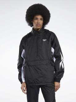 Ветровка CL D TEAM HZ ANORAK BLACK Reebok