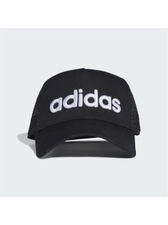 Кепка Curved Trucker      BLACK/BLACK/WHITE adidas