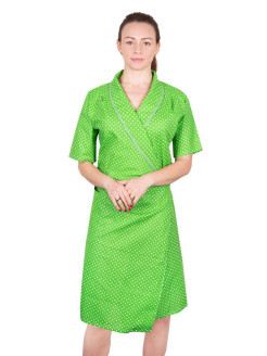Dressing gown female from coarse calico 1 Метр ткани