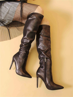 Over-the-knee boots mark lure