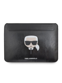 Laptop case, artificial leather, without features Karl Lagerfeld