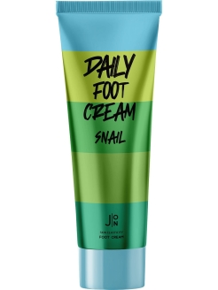 Крем для ног SNAIL DAILY FOOT CREAM, 100 мл J:ON
