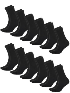 Set socks man's thin Optima (10 + 2), set of 12 pairs FABER FAMILY