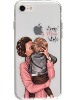 Case for phone, silicone, shockproof КейсБерри