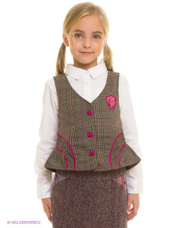 "Жилет ""English Plaid Vest w/ Corduroy Detail"" Fore!! Axel and Hudson"