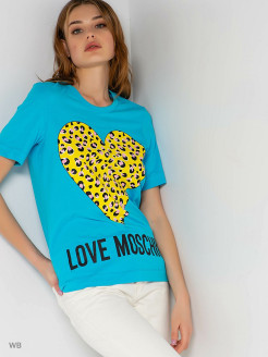 Polo shirt Love Moschino