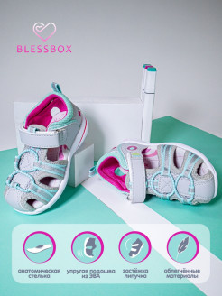 Open-toe shoes, casual Blessbox