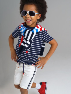 Bermuda shorts, with stripes PlayToday
