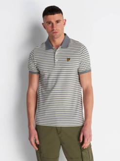 Футболка-поло Stripe Polo Shirt Lyle & Scott