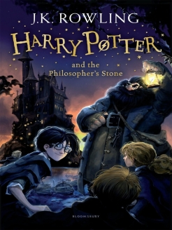 Foreign book, Harry Potter and the Philosopher's Stone Bloomsbury