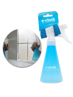 Water spray bottle E-cloth